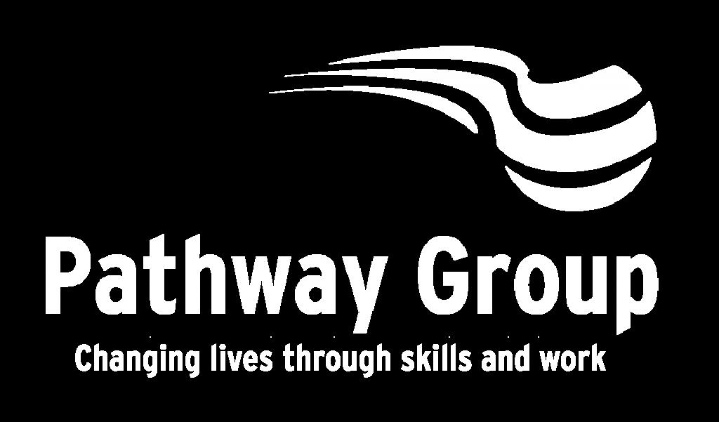 Pathway Group White Logo