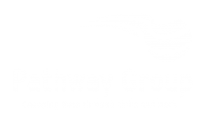 Pathway Group White Logo