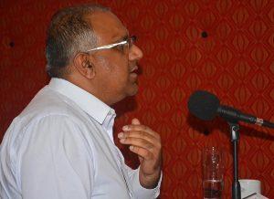 Safaraz Ali Pathway Group CEO - White Shirt
