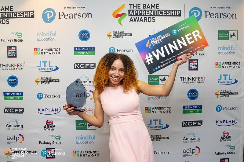 BAME Apprenticehip Awards 2021 - Winner