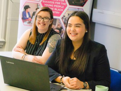 Pathway Group - Molly & Rhiannon - Walsall Academy- Apprenticeships, Advanced Learner Loans, Adult Education Budget